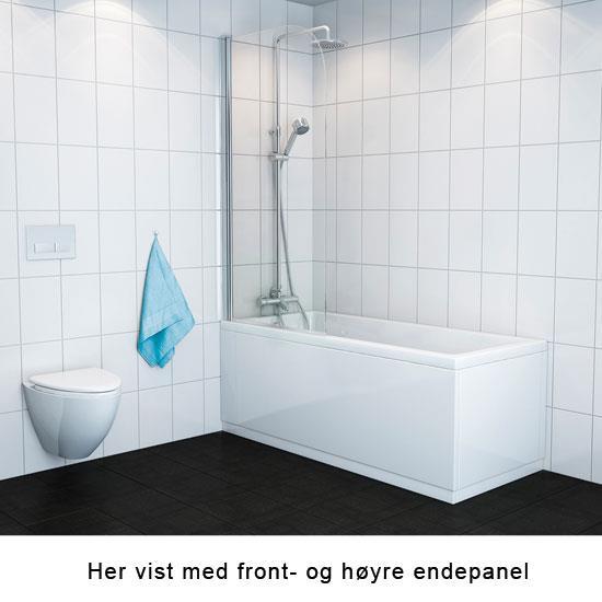 Dusjsett til badekar