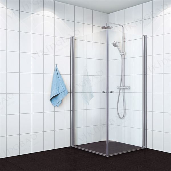 Vikingbad rett dusjdør